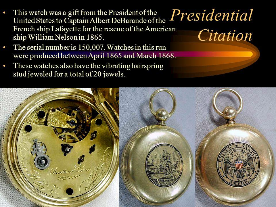 Presidential Citation