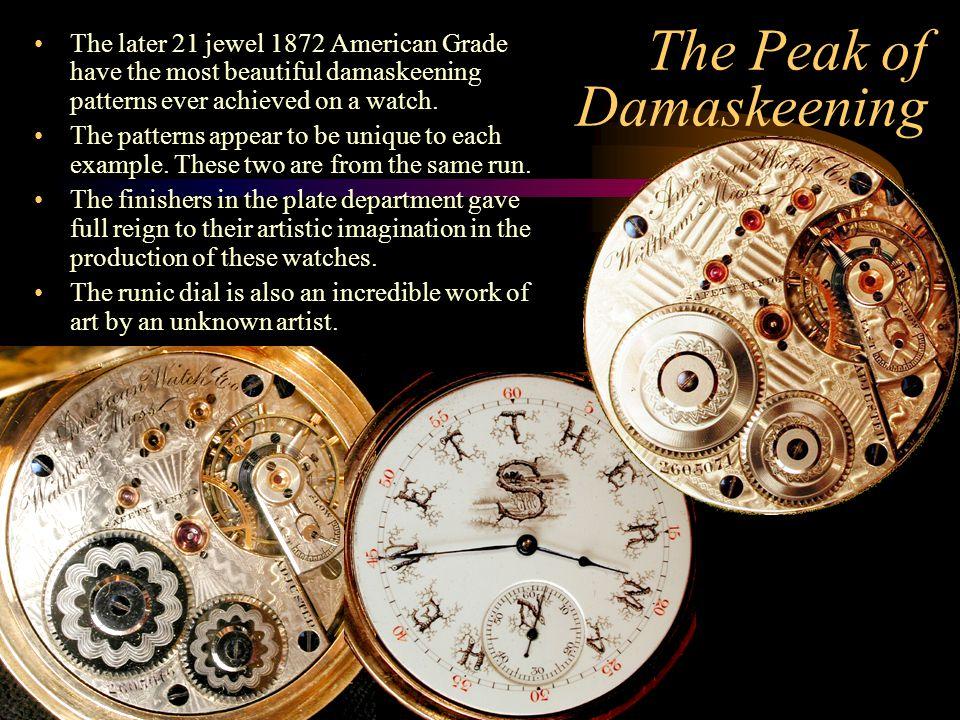 The Peak of Damaskeening