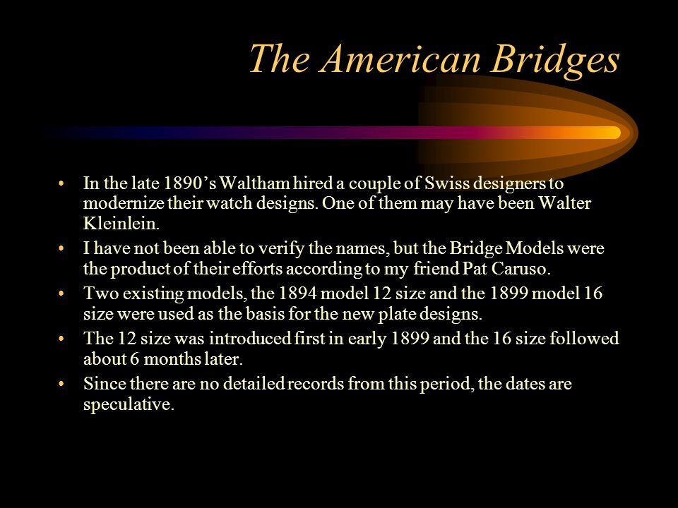 The American Bridges