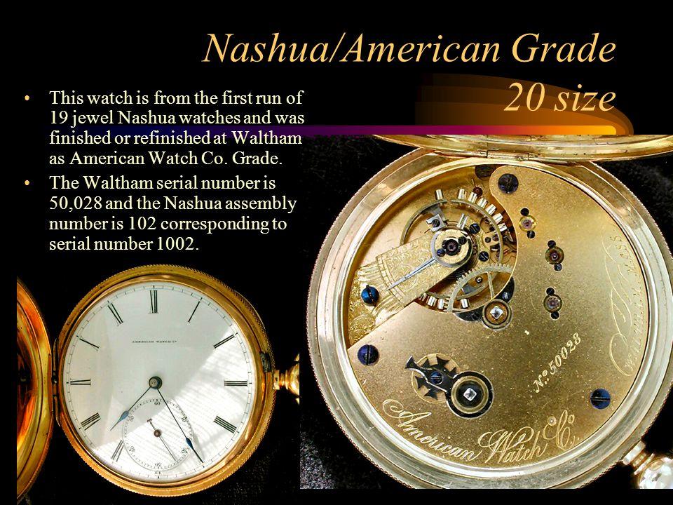Nashua/American Grade 20 size