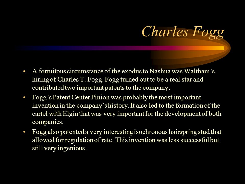 Charles Fogg