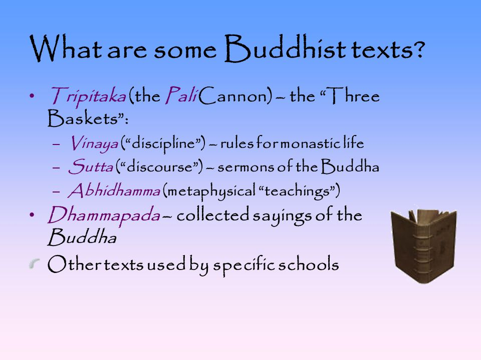 What are some Buddhist texts