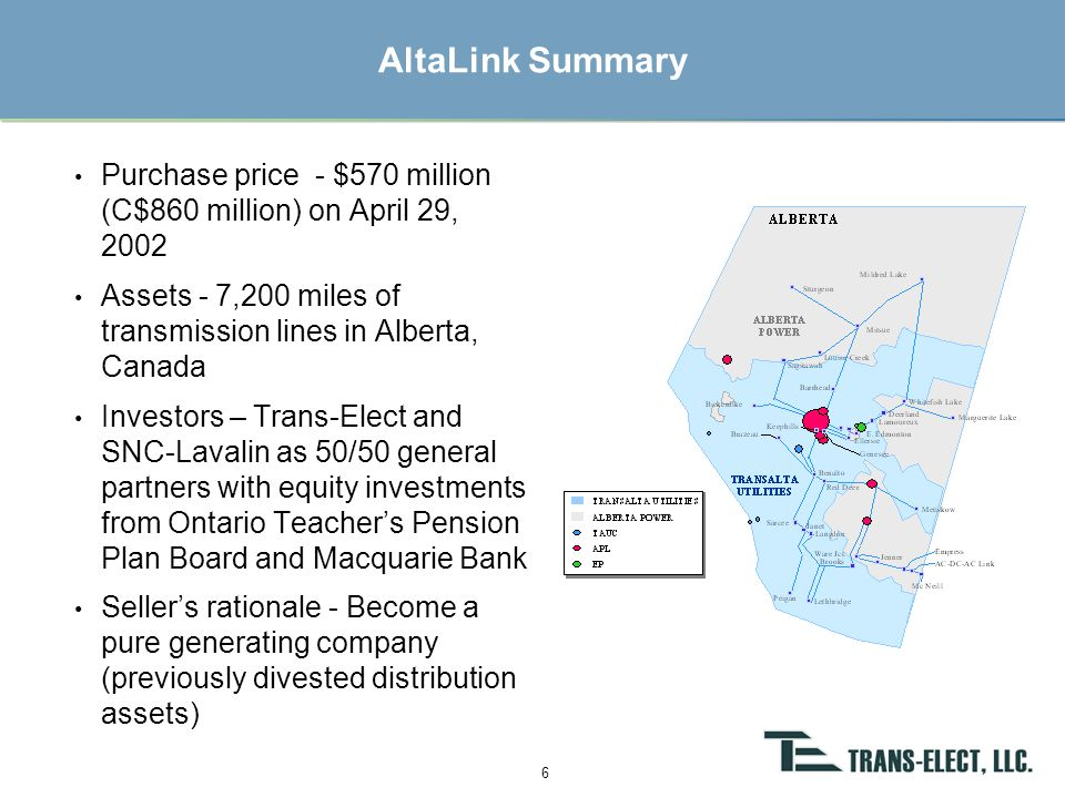 Trans-Elect's Partner: AES Corporate Overview