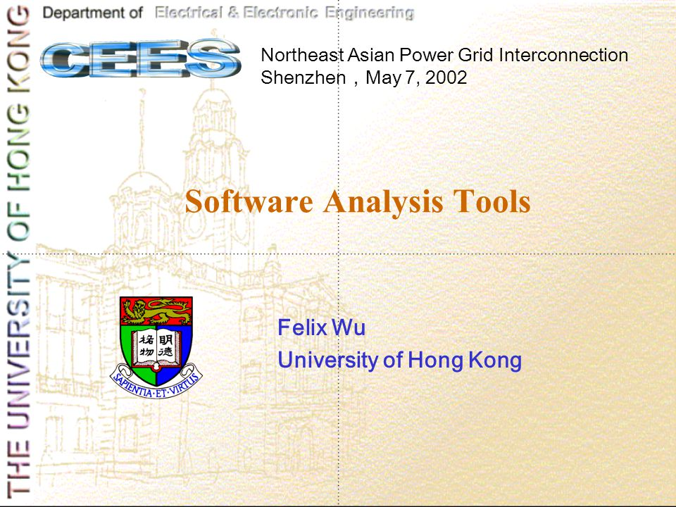 Software Analysis Tools