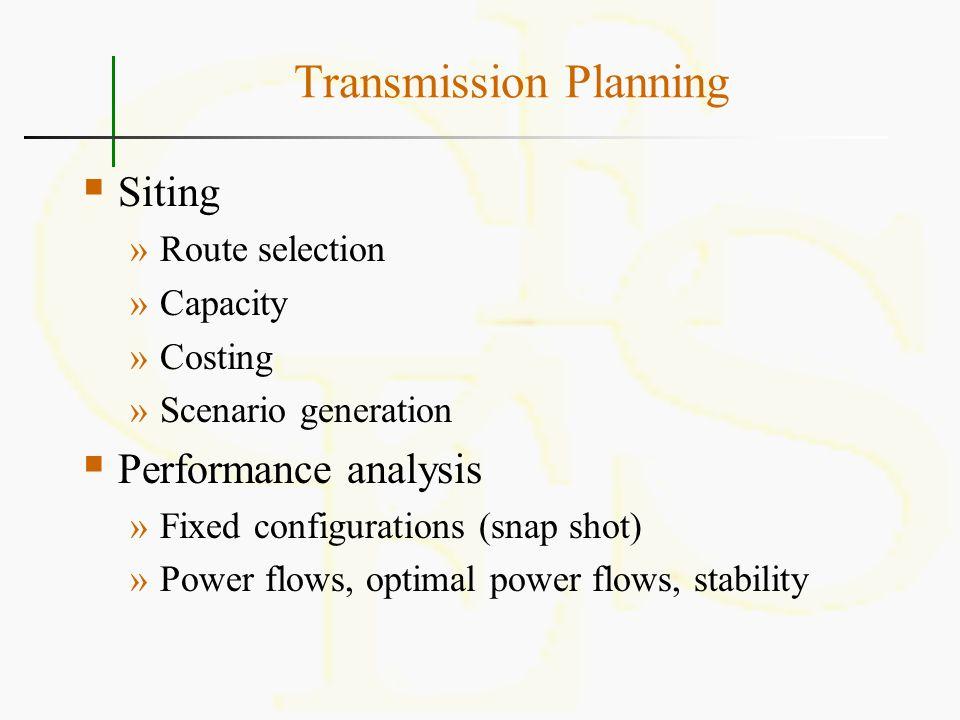 Transmission Planning