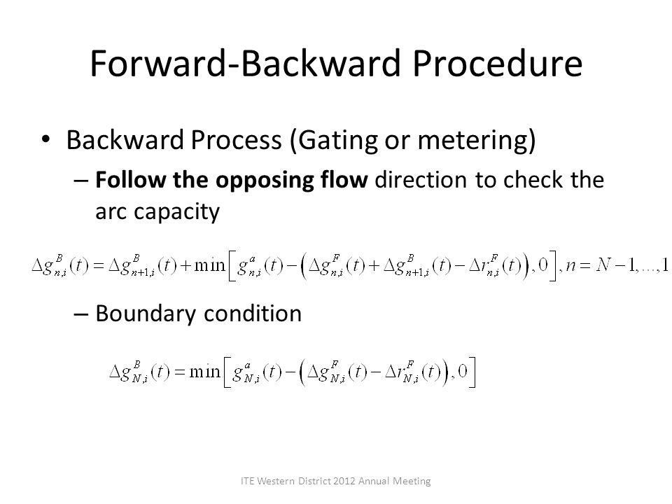 Forward-Backward Procedure