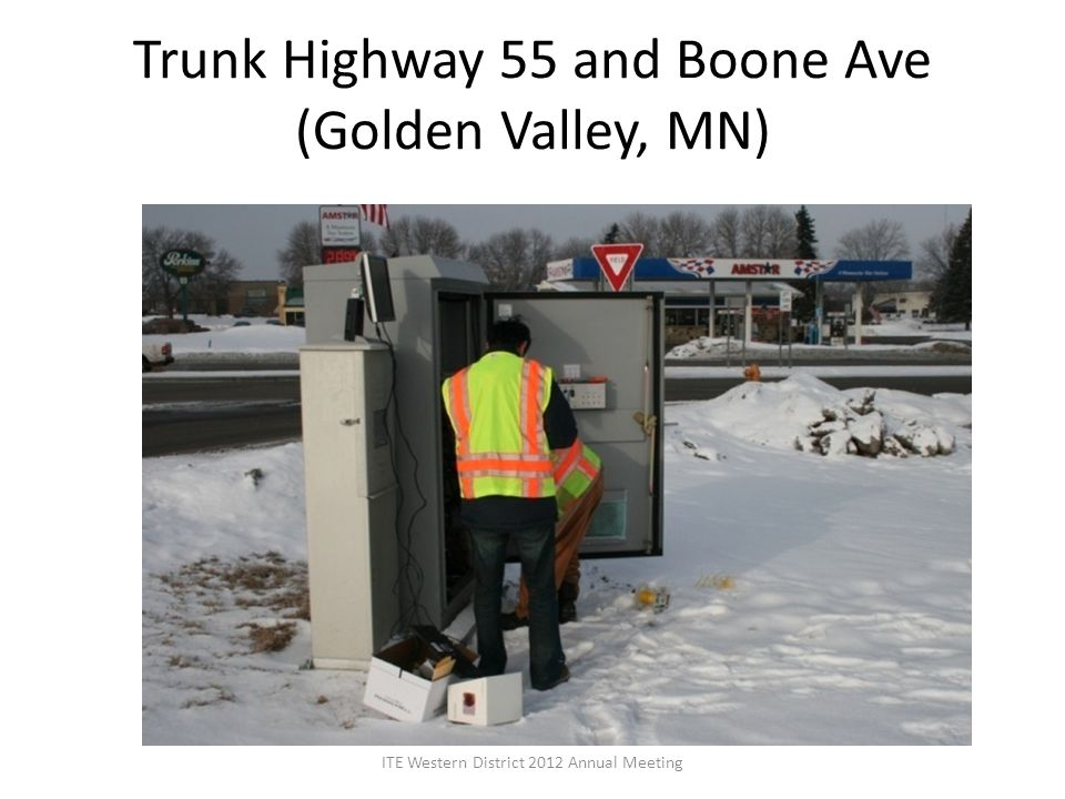 Trunk Highway 55 and Boone Ave (Golden Valley, MN)