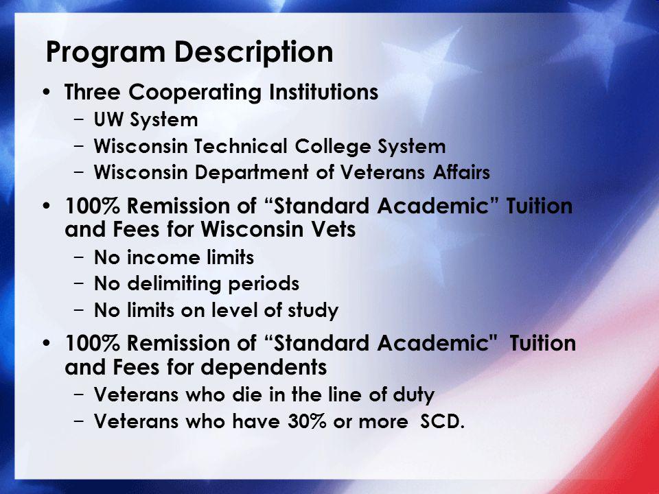 Program Description Three Cooperating Institutions