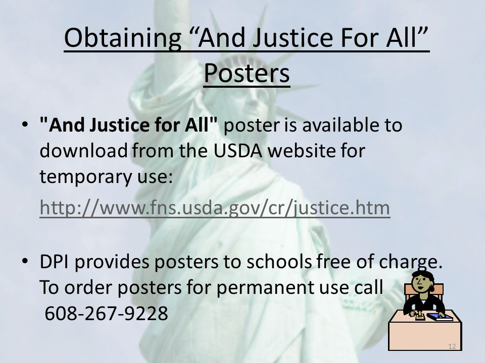 Obtaining And Justice For All Posters