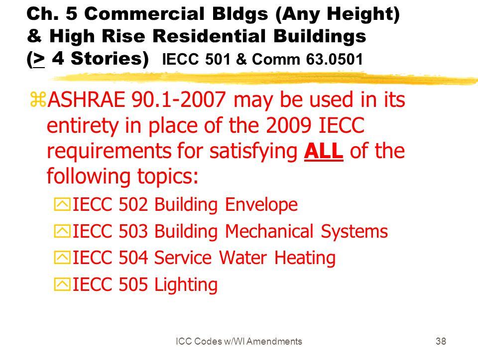 ICC Codes w/WI Amendments
