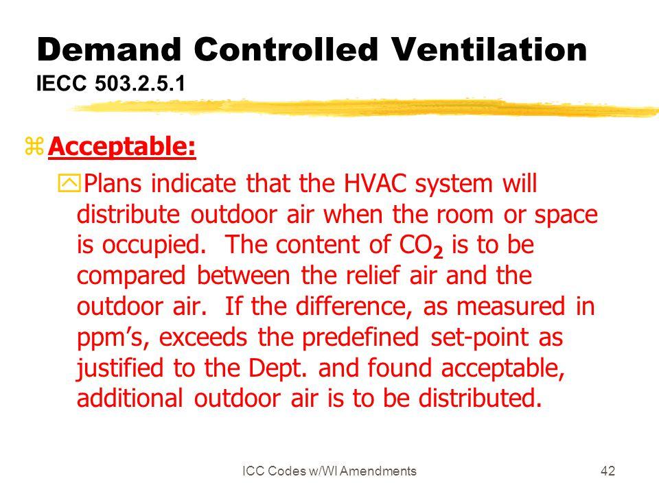 Demand Controlled Ventilation IECC 503.2.5.1
