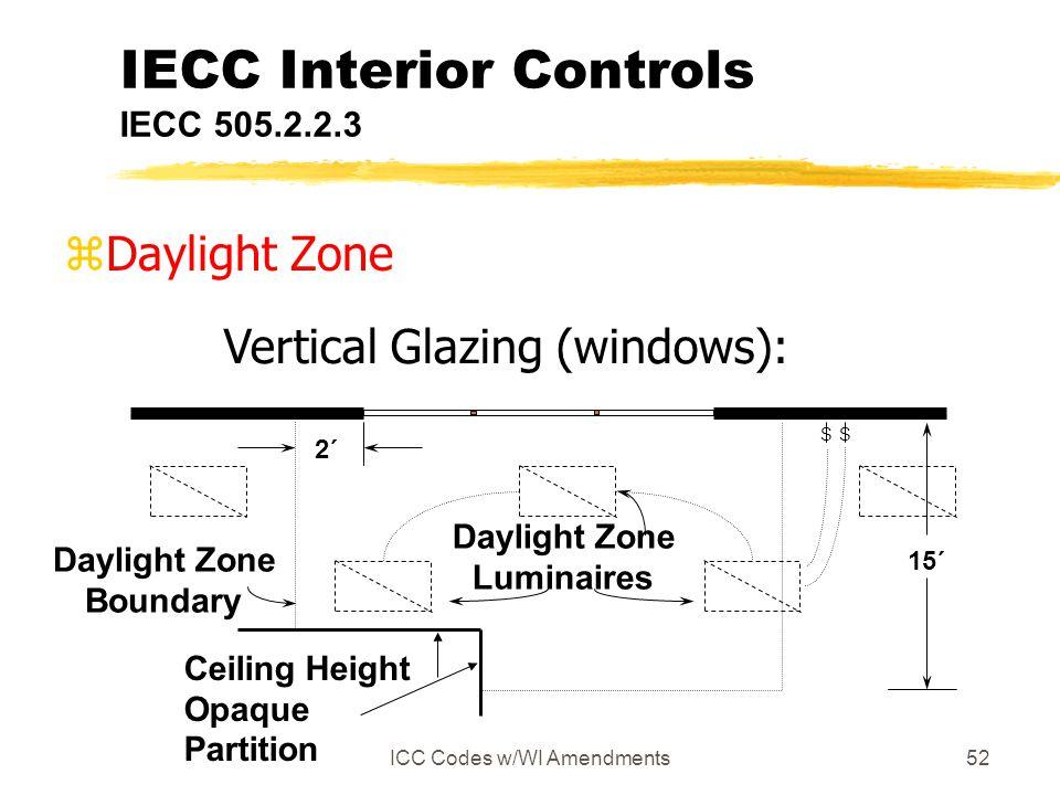 IECC Interior Controls IECC 505.2.2.3