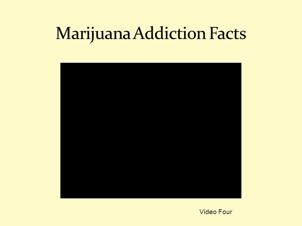 Marijuana Addiction Facts