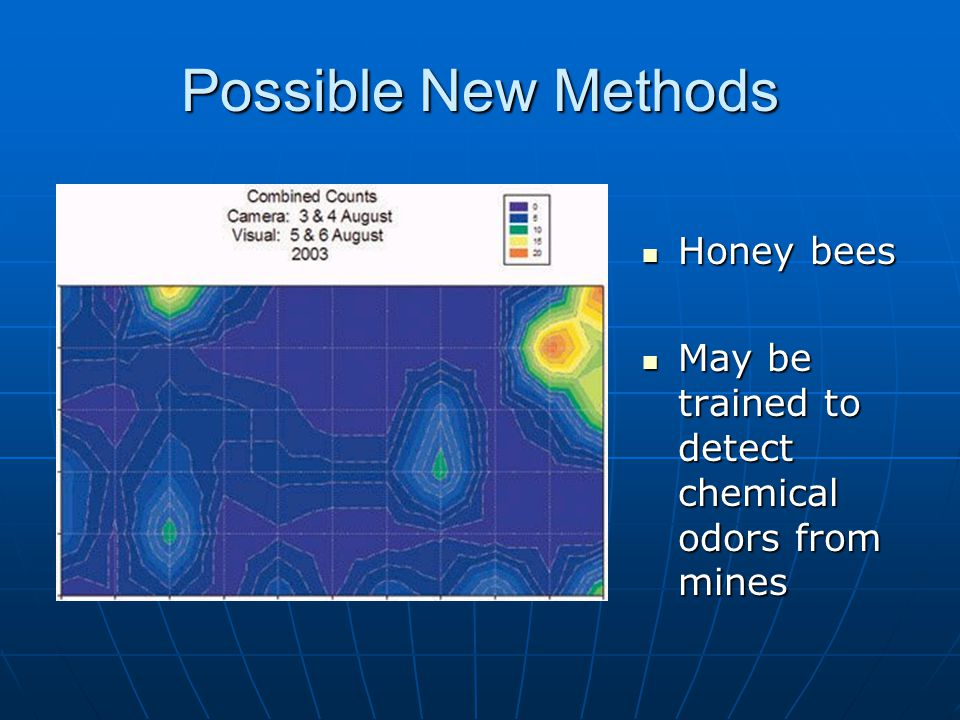 Possible New Methods Honey bees