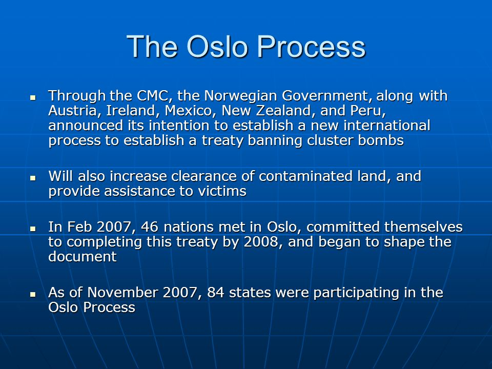 The Oslo Process