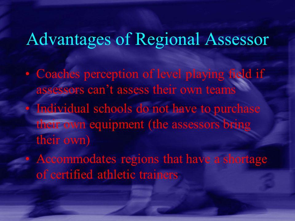 Advantages of Regional Assessor