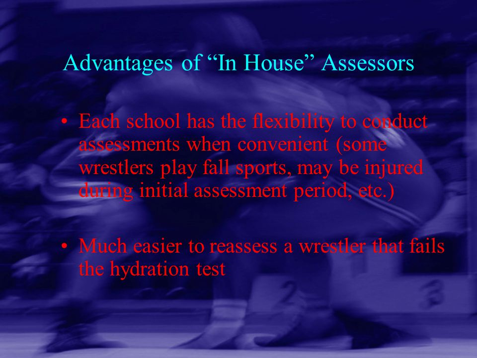Advantages of In House Assessors