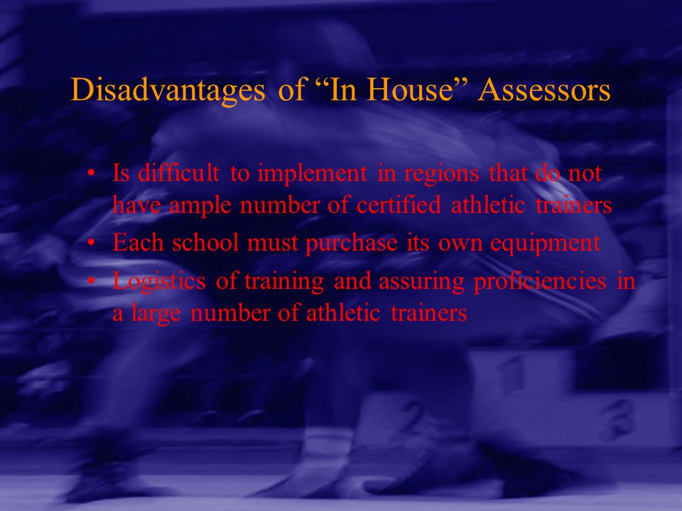 Disadvantages of In House Assessors