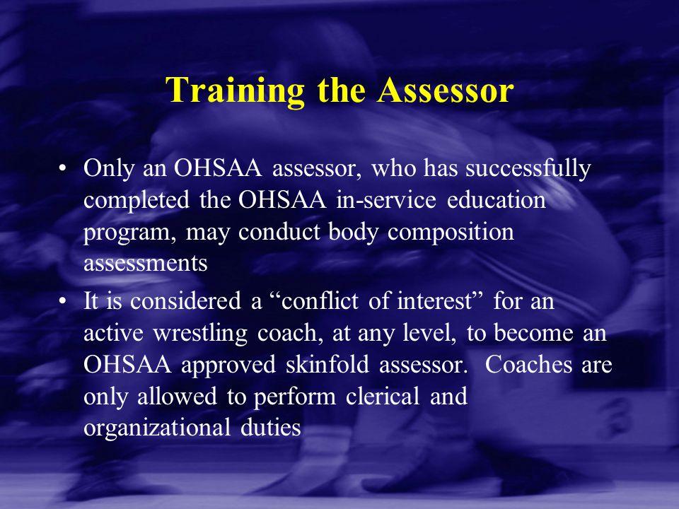 Training the Assessor