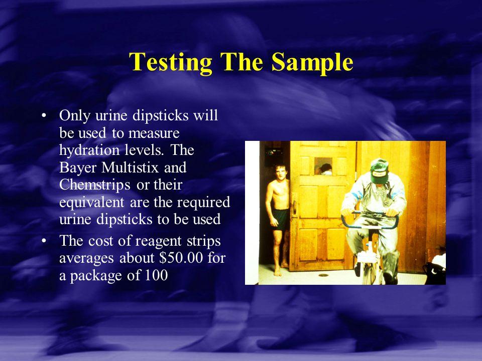 Testing The Sample