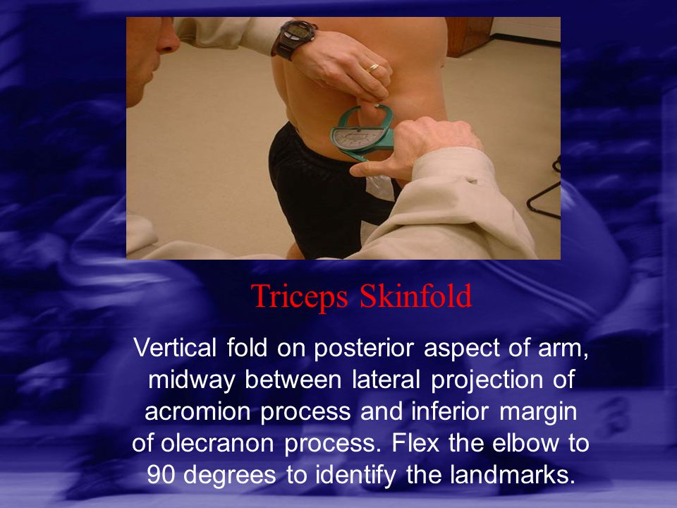 Triceps Skinfold