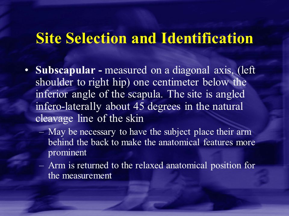 Site Selection and Identification
