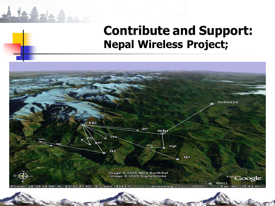 Contribute and Support: Nepal Wireless Project;