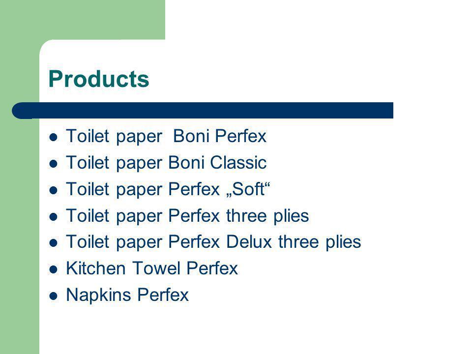 Products Toilet paper Boni Perfex Toilet paper Boni Classic