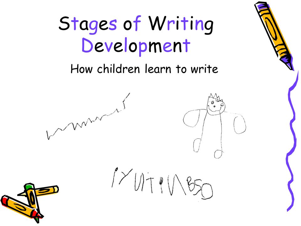 Stages of Writing Development