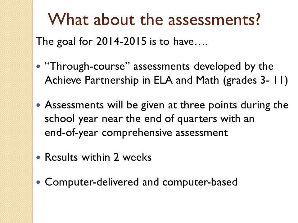 ELA Assessment: Mode of Administration
