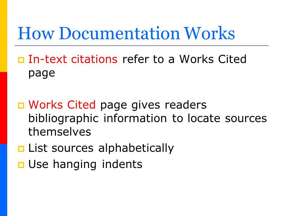 How Documentation Works