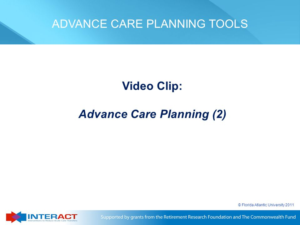Advance Care Planning (2)