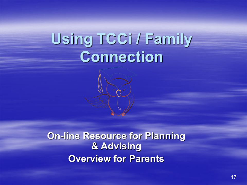Using TCCi / Family Connection