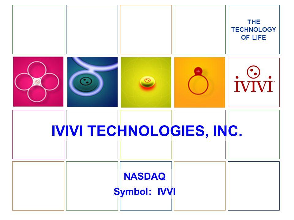 IVIVI TECHNOLOGIES, INC.