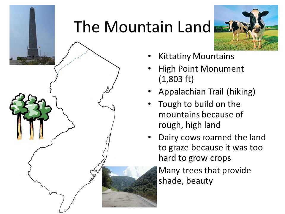 The Mountain Land Kittatiny Mountains High Point Monument (1,803 ft)