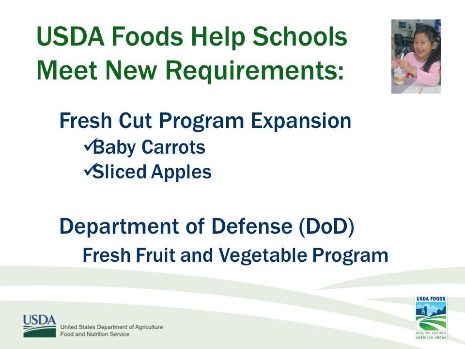 USDA Foods Help Schools Meet New Requirements: