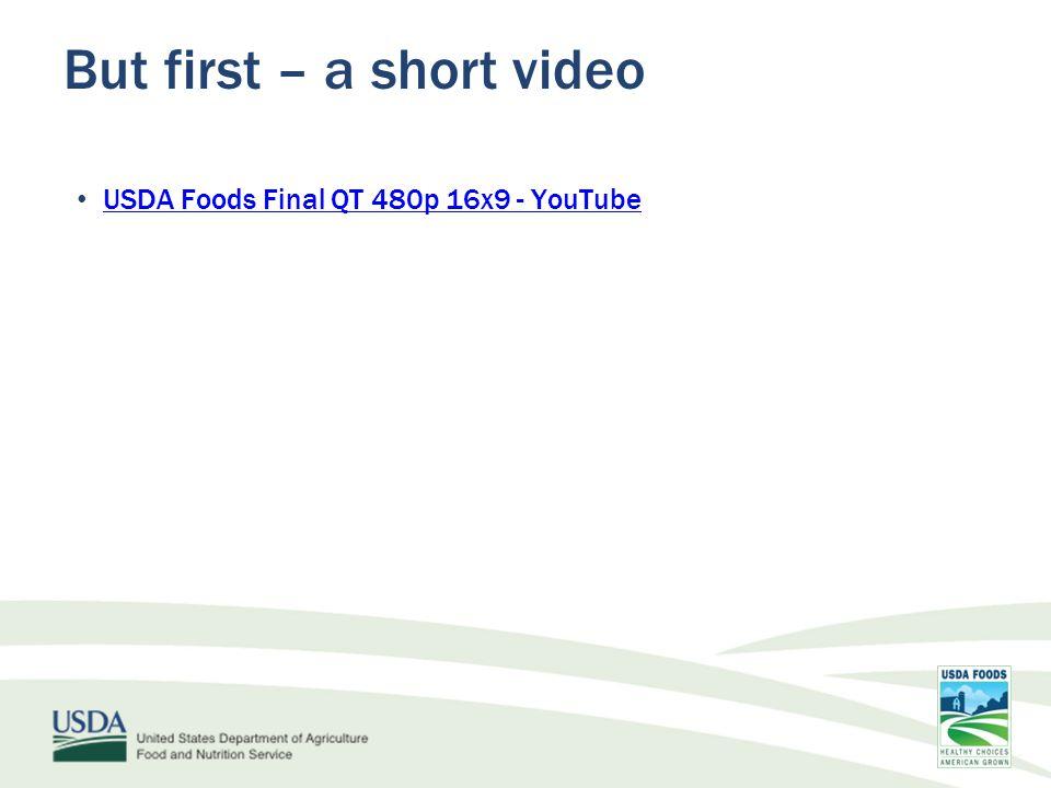 But first – a short video