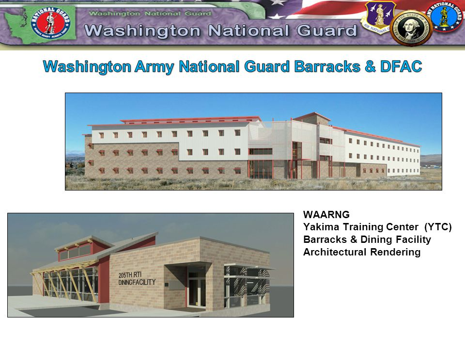 Washington Army National Guard Barracks & DFAC