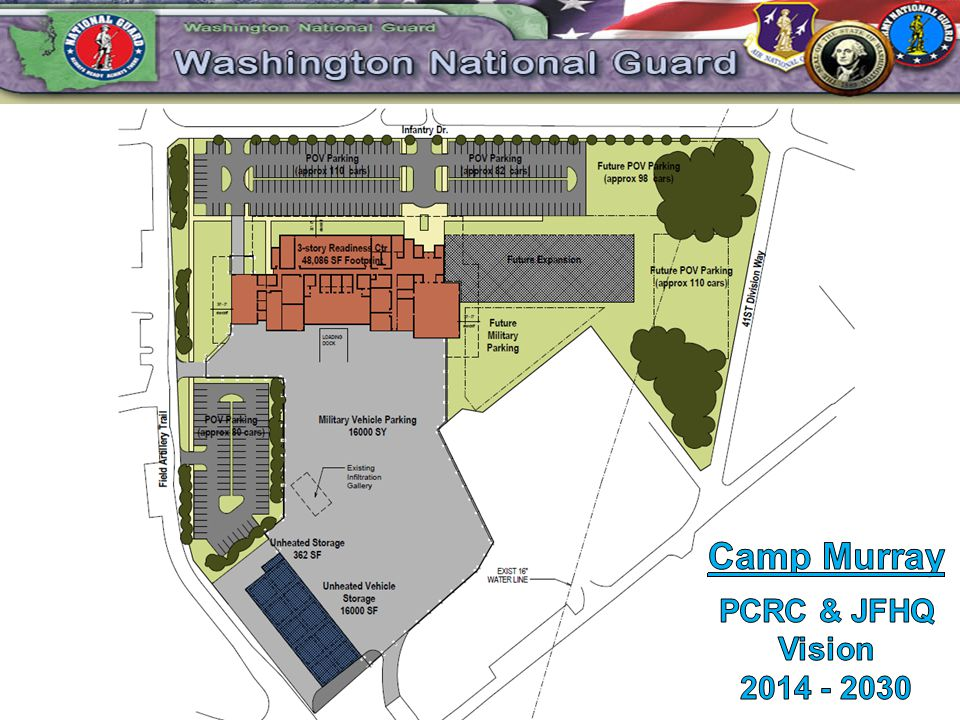 Camp Murray PCRC & JFHQ Vision 2014 - 2030