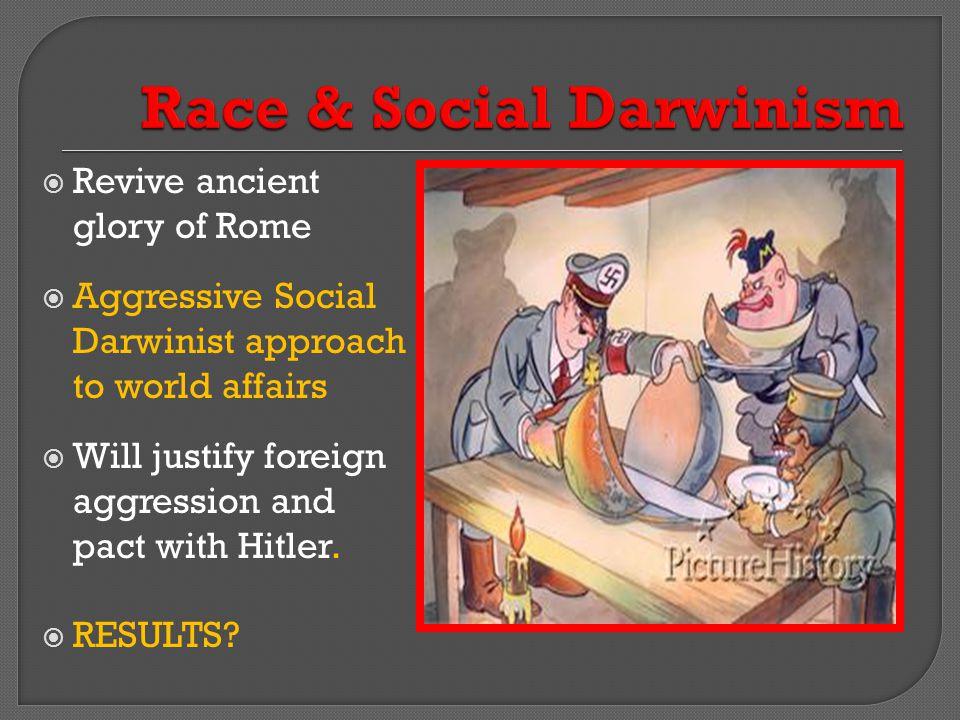 Race & Social Darwinism