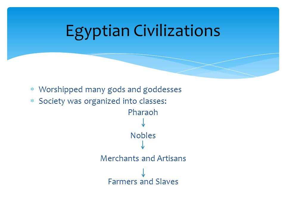 Egyptian Civilizations