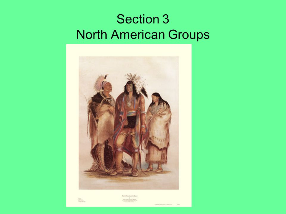 Section 3 North American Groups