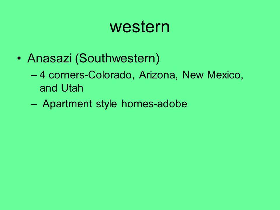 western Anasazi (Southwestern)