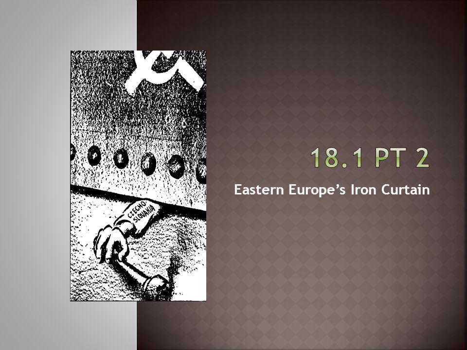 Eastern Europe's Iron Curtain