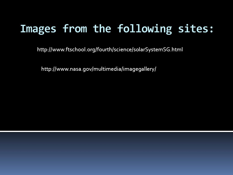 Images from the following sites: