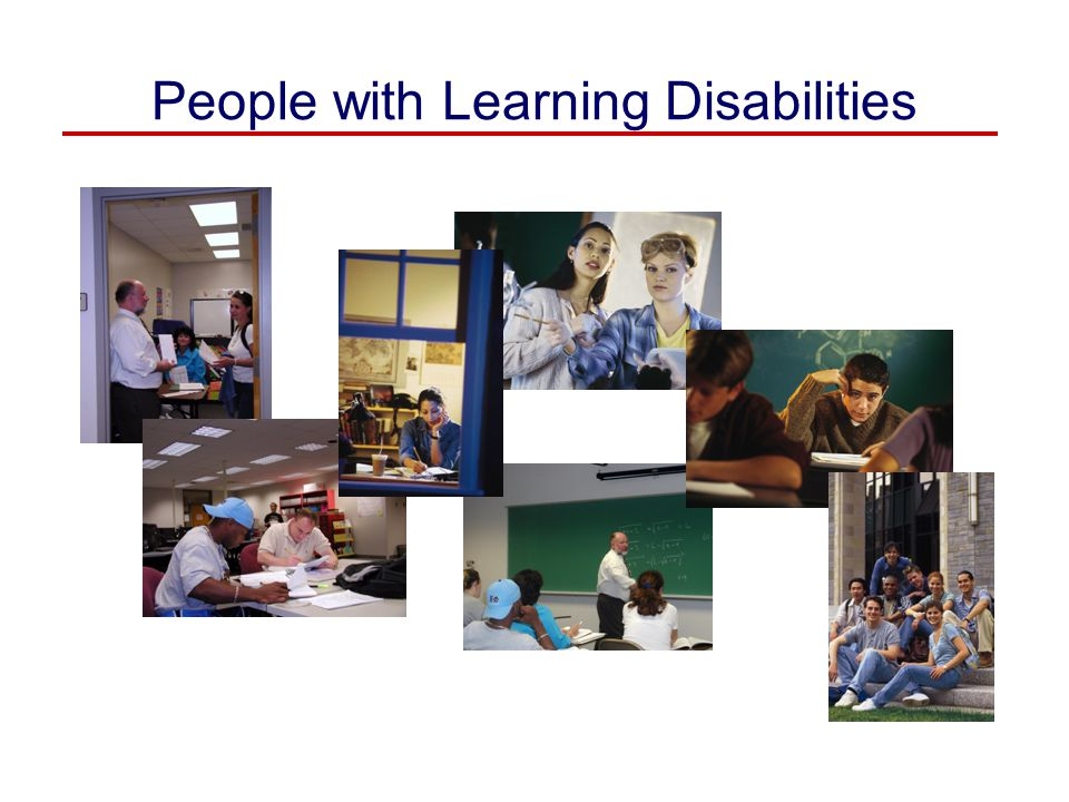 People with Learning Disabilities