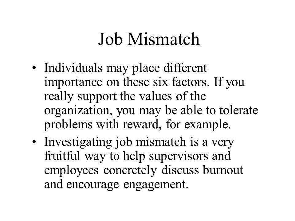 Job Mismatch