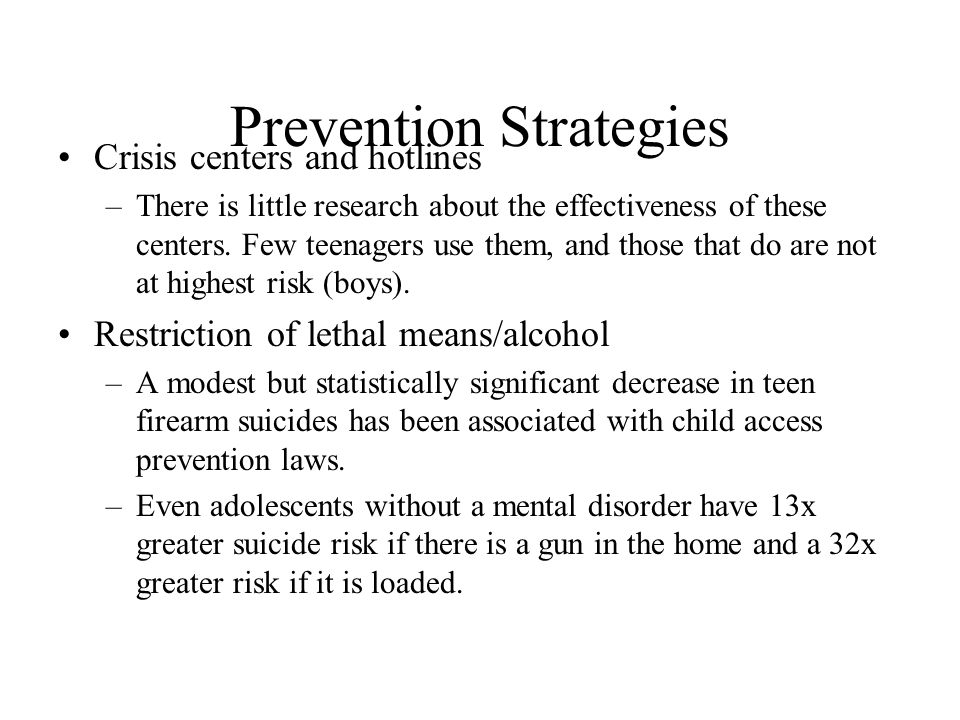 Prevention Strategies