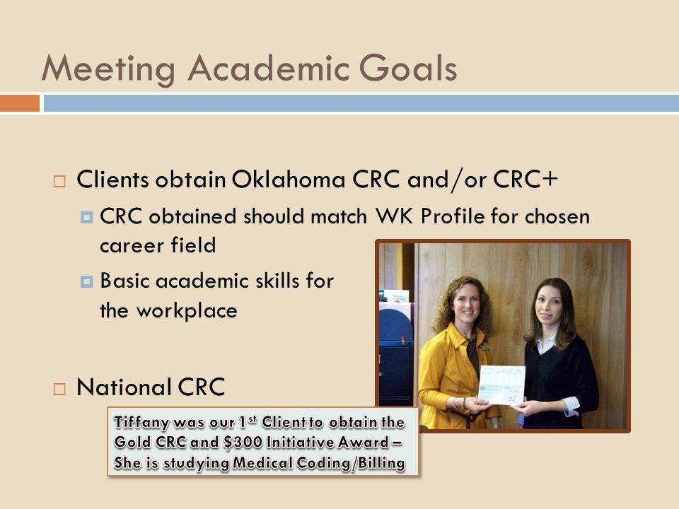 Meeting Academic Goals