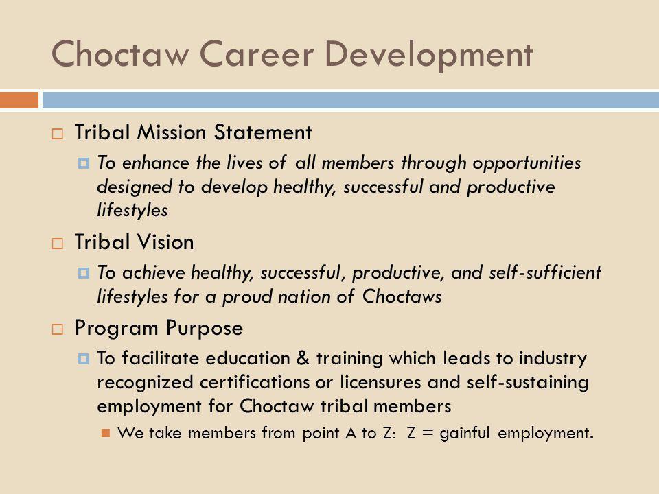 Choctaw Career Development